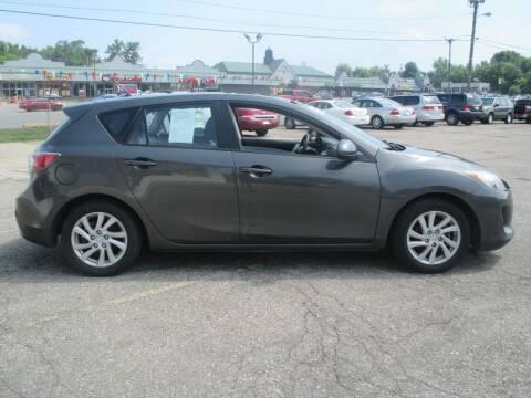 2012 Mazda MAZDA3 for sale at Summit Auto Sales Inc in Pontiac MI