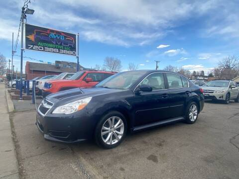2014 Subaru Legacy for sale at AWD Denver Automotive LLC in Englewood CO