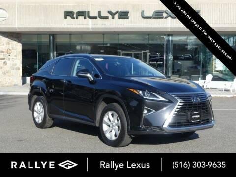 2017 Lexus RX 350 for sale at RALLYE LEXUS in Glen Cove NY