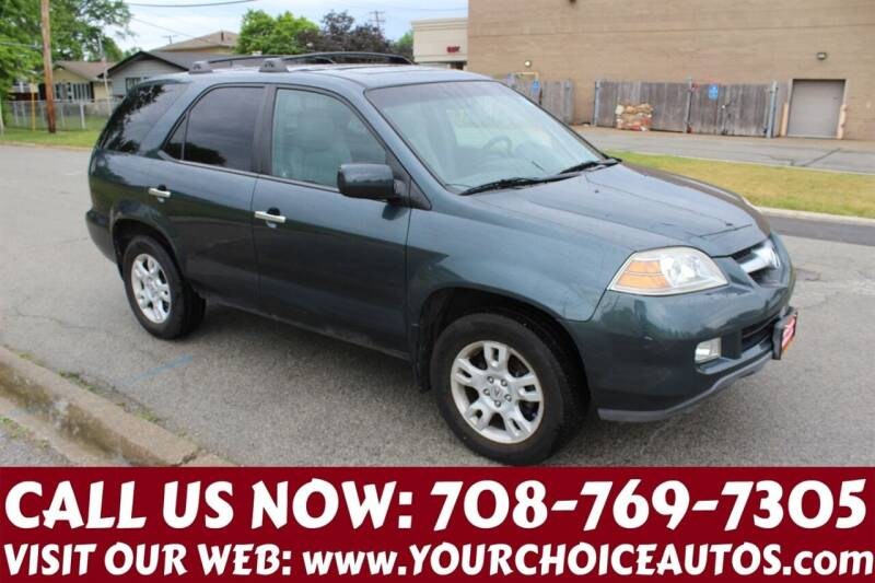 2005 Acura MDX for sale at Your Choice Autos in Posen IL