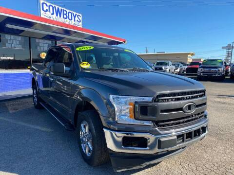 2018 Ford F-150 for sale at Cow Boys Auto Sales LLC in Garland TX