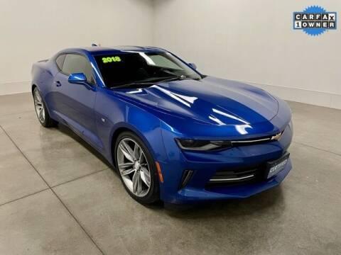 2018 Chevrolet Camaro for sale at Bob Clapper Automotive, Inc in Janesville WI