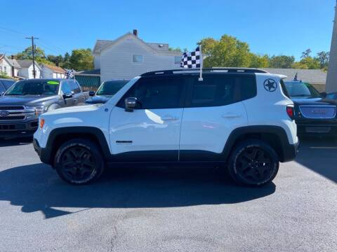 2017 Jeep Renegade for sale at Sisson Pre-Owned in Uniontown PA