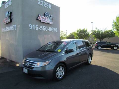 2012 Honda Odyssey for sale at LIONS AUTO SALES in Sacramento CA