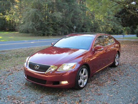 2008 Lexus GS 350 for sale at White Cross Auto Sales in Chapel Hill NC