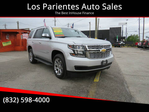2015 Chevrolet Tahoe for sale at Los Parientes Auto Sales in Houston TX