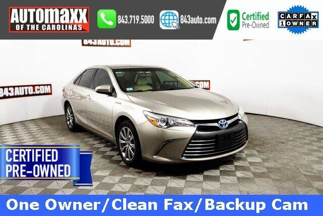 2015 Toyota Camry Hybrid for sale in Summerville, SC