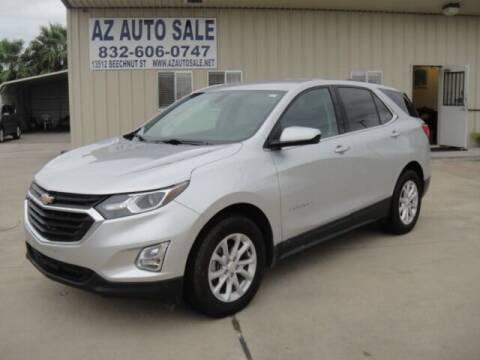 2019 Chevrolet Equinox for sale at AZ Auto Sale in Houston TX