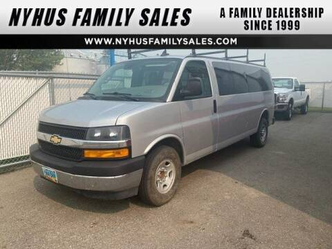 2019 Chevrolet Express Passenger for sale at Nyhus Family Sales in Perham MN