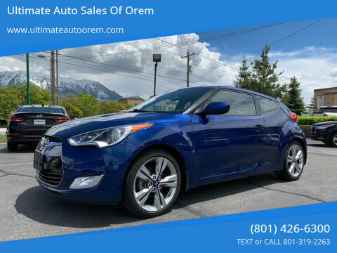 2016 Hyundai Veloster for sale at Ultimate Auto Sales Of Orem in Orem UT