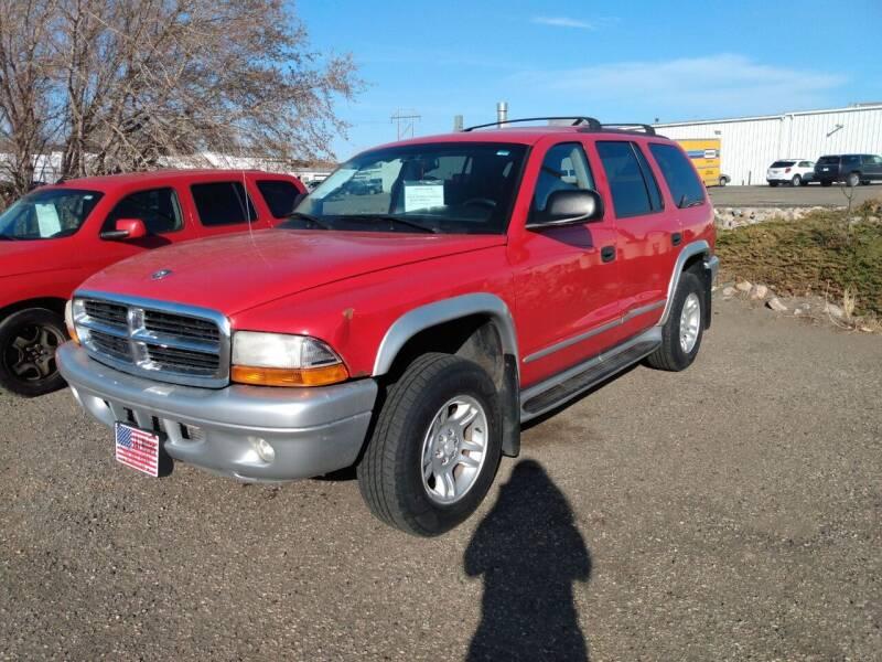 2003 Dodge Durango for sale at L & J Motors in Mandan ND