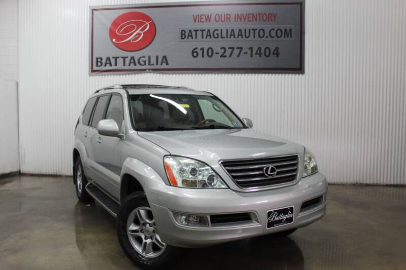2003 Lexus GX 470 for sale at Battaglia Auto Sales in Plymouth Meeting PA