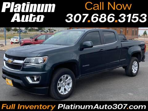 2017 Chevrolet Colorado for sale at Platinum Auto in Gillette WY