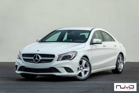 2015 Mercedes-Benz CLA for sale at Nuvo Trade in Newport Beach CA