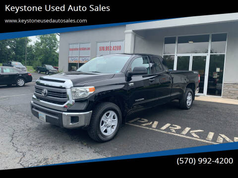 2014 Toyota Tundra for sale at Keystone Used Auto Sales in Brodheadsville PA