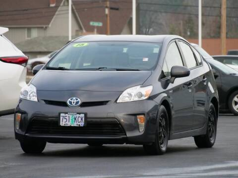 2015 Toyota Prius for sale at CLINT NEWELL USED CARS in Roseburg OR