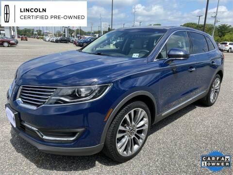 2018 Lincoln MKX for sale at Kindle Auto Plaza in Cape May Court House NJ