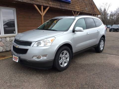 2012 Chevrolet Traverse for sale at MOTORS N MORE in Brainerd MN