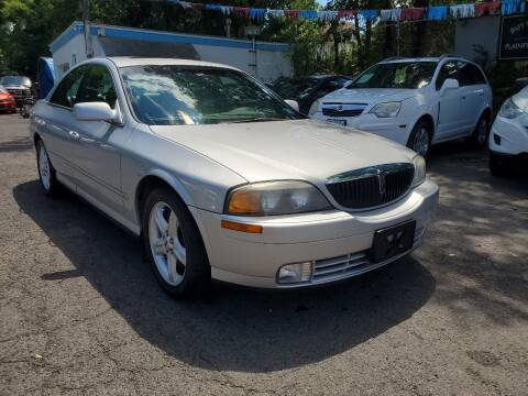 2001 Lincoln LS for sale at New Plainfield Auto Sales in Plainfield NJ