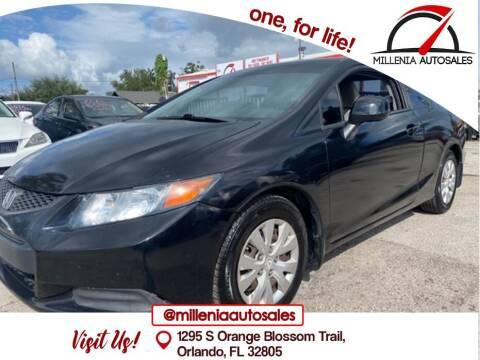 2012 Honda Civic for sale at Millenia Auto Sales in Orlando FL