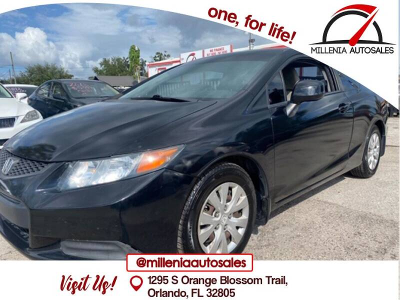 2012 Honda Civic for sale at Millenia Auto Sales in Orlando FL
