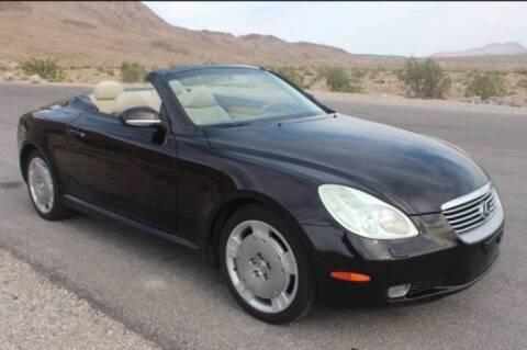 2003 Lexus SC 430 for sale at HAVANA AUTO SALES in Las Vegas NV