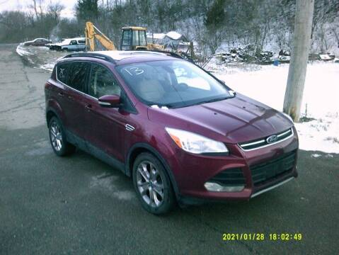 2013 Ford Escape for sale at WEINLE MOTORSPORTS in Cleves OH