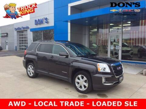 2016 GMC Terrain for sale at DON'S CHEVY, BUICK-GMC & CADILLAC in Wauseon OH