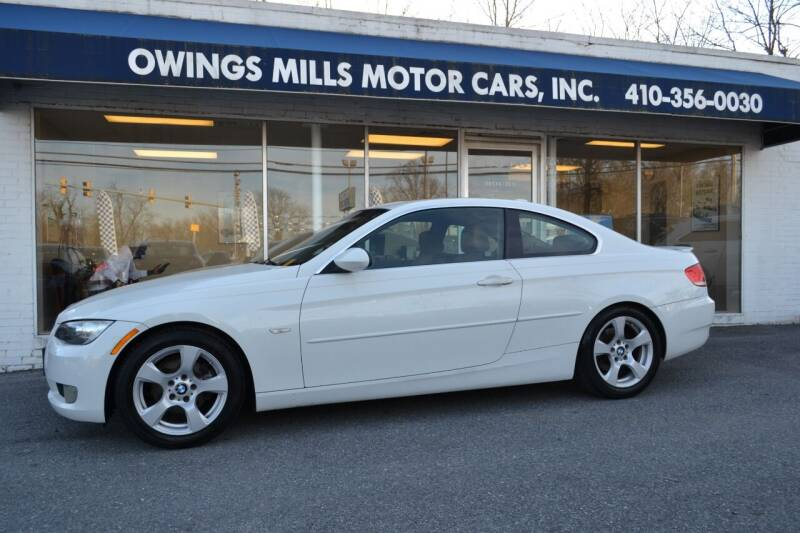 2007 BMW 3 Series for sale at Owings Mills Motor Cars in Owings Mills MD