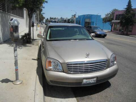 2001 Cadillac De Ville4 for sale at Frank Corrente Cadillac Corner in Hollywood CA