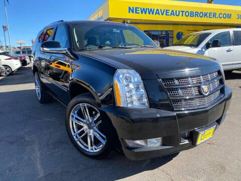 2013 Cadillac Escalade for sale at New Wave Auto Brokers & Sales in Denver CO
