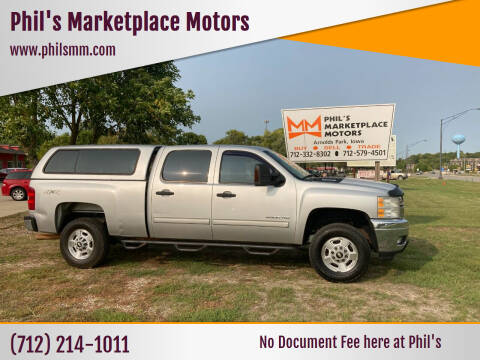 2011 Chevrolet Silverado 2500HD for sale at Phil's Marketplace Motors in Arnolds Park IA