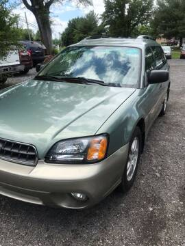 2003 Subaru Outback for sale at PREOWNED CAR STORE in Bunker Hill WV