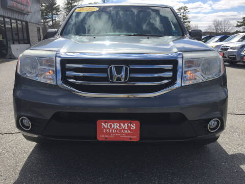 2012 Honda Pilot for sale at NORM'S USED CARS INC - Trucks By Norm's in Wiscasset ME