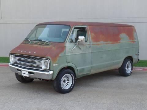 1977 Dodge Ram Van for sale at CROWN AUTOPLEX in Arlington TX