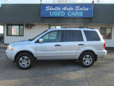 2005 Honda Pilot for sale at SHULTS AUTO SALES INC. in Crystal Lake IL