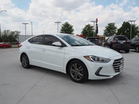 2017 Hyundai Elantra for sale at SIMOTES MOTORS in Minooka IL