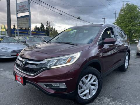 2015 Honda CR-V for sale at Real Deal Cars in Everett WA