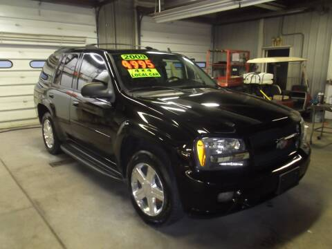 2009 Chevrolet TrailBlazer for sale at Dietsch Sales & Svc Inc in Edgerton OH