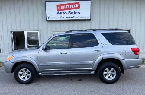 2006 Toyota Sequoia for sale at Certified Auto Sales in Des Moines IA