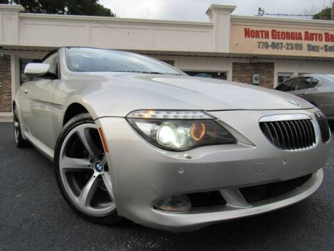 2008 BMW 6 Series for sale at North Georgia Auto Brokers in Snellville GA