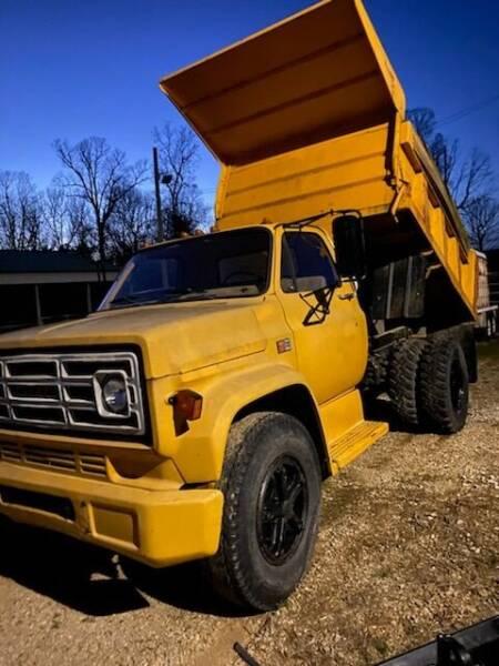 1980 GMC 7000 DUMP TRUCK for sale at Drive in Leachville AR