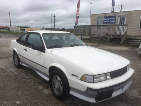 1988 Chevrolet Cavalier for sale at Drive Today Auto Sales LLC in Mount Sterling KY