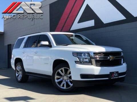 2015 Chevrolet Tahoe for sale at Auto Republic Fullerton in Fullerton CA