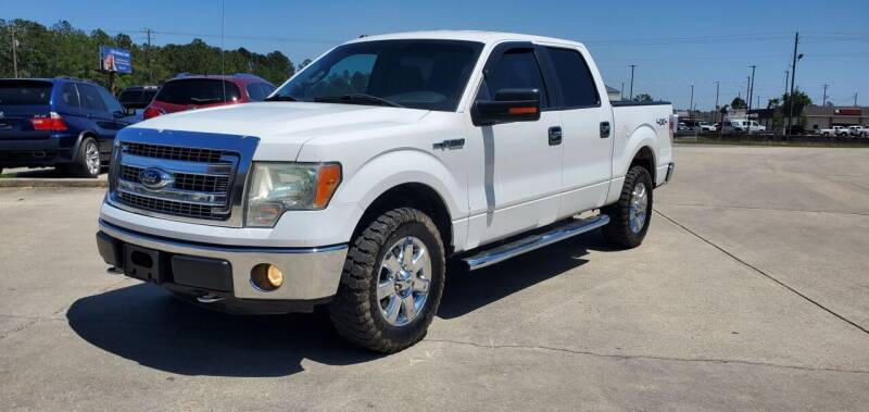 2013 Ford F-150 for sale at WHOLESALE AUTO GROUP in Mobile AL