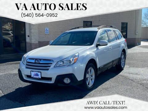 2013 Subaru Outback for sale at Va Auto Sales in Harrisonburg VA
