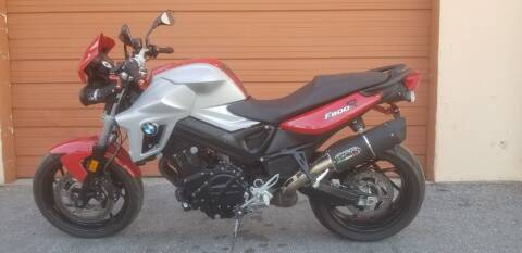 2012 BMW F800R for sale at KK Car Co Inc in Lake Worth FL