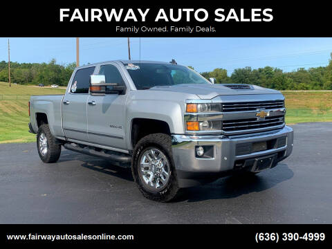 2019 Chevrolet Silverado 2500HD for sale at FAIRWAY AUTO SALES in Washington MO