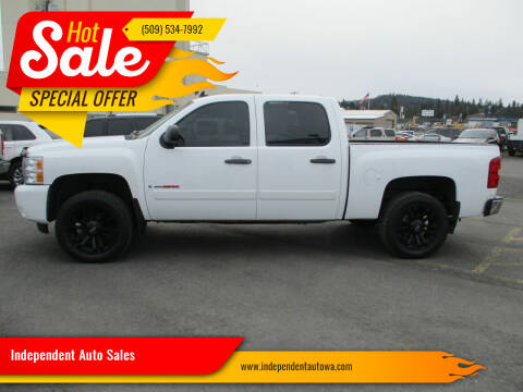 2007 Chevrolet Silverado 1500 for sale at Independent Auto Sales in Spokane Valley WA