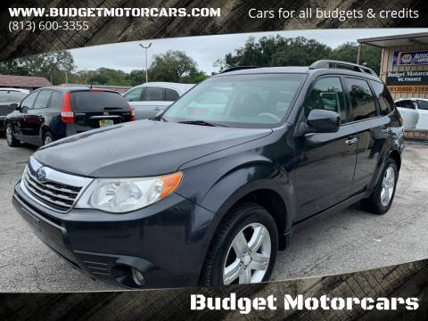 2010 Subaru Forester for sale at Budget Motorcars in Tampa FL